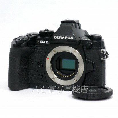 【中古】 オリンパス OM-D E-M1 ブラック ボディ OLYMPUS 中古カメラ 31718【カメラの八百富】【カメラ】【レンズ】