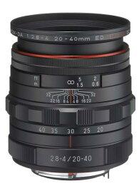 【新品】 ペンタックス HD PENTAX-DA 20-40mm F2.8-4 ED Limited DC WR [ブラック] 【PENTAX】