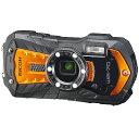 リコー RICOH コンパクトデジタルカメラ WG-70 [オレンジ]