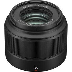 フジフイルム FUJIFILM XC 35mm F2 [ブラック] 交換レンズ