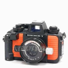 【8/10 限定!!全品カードエントリーでポイント最大27倍!】【中古】 ニコン NIKONOS V オレンジ 35mm F2.5 セット Nikon / ニコノス 中古フイルムカメラ 42663