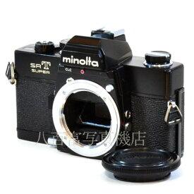 【9/26 01:59まで!!最大4,000円OFFクーポン!!】【中古】 ミノルタ SRT SUPER ブラック minolta SRTスーパー 中古フイルムカメラ 38046