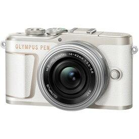 オリンパス PEN E-PL10 14-42mmEZレンズキット [ホワイト] OLYMPUS ペンライト ミラーレスデジタルカメラ