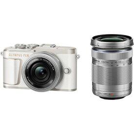 オリンパス PEN E-PL10 EZダブルズームキット [ホワイト] OLYMPUS ペンライト ミラーレスデジタルカメラ