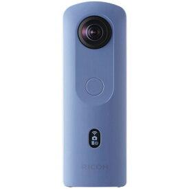 リコー THETA SC2 ブルー [全天球撮影カメラ/4K動画撮影対応モデル] RICOH シータ