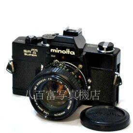 【9/26 01:59まで!!最大4,000円OFFクーポン!!】【中古】 ミノルタ SRT SUPER ブラック 50mm F1.4 セット minolta 中古フイルムカメラ 42788