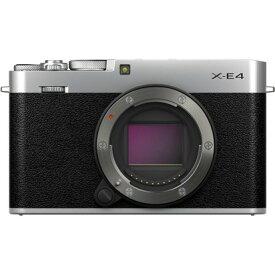 フジフイルム FUJIFILM X-E4 ボディ [シルバー] ミラーレスデジタルカメラ