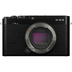 フジフイルム FUJIFILM X-E4 ボディ[ブラック] ミラーレスデジタルカメラ
