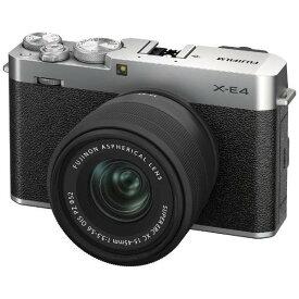 フジフイルム FUJIFILM X-E4 XC15-45レンズキット [シルバー]ミラーレスデジタルカメラ