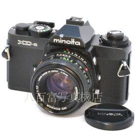 【9/26 01:59まで!!最大4,000円OFFクーポン!!】【中古】 ミノルタ XD-S ブラック 50mmF1.7セット minolta 中古フイルムカメラ 38848