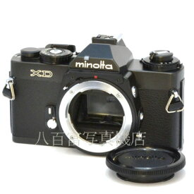 【9/26 01:59まで!!最大4,000円OFFクーポン!!】【中古】 ミノルタ XD ブラック 後期モデル ボディ minolta 中古フイルムカメラ 44302