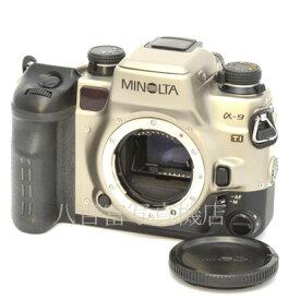 【中古】 ミノルタ α-9 Ti ボディ MINOLTA 中古フイルムカメラ 07851