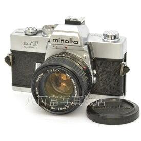【中古】 ミノルタ SRT SUPER シルバー 50mm F1.4 セット minolta 中古フイルムカメラ 43850