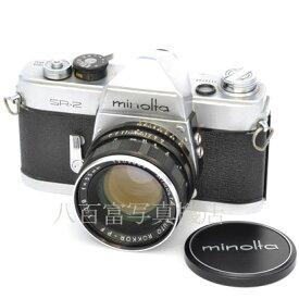 【中古】 ミノルタ SR-2 55mm F1.8 セット minolta 中古フイルムカメラ 44943