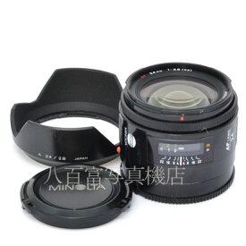 【中古】 ミノルタ AF 24mm F2.8 I型 MINOLTA 中古レンズ 45046【カメラの八百富】【カメラ】【レンズ】