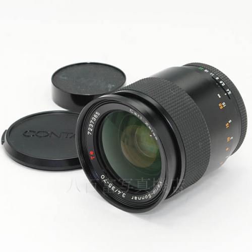 【中古】 中古レンズ コンタックス Vario Sonnar T* 35-70mm F3.4 MM CONTAX 16637