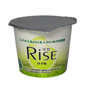 【植物性食品】 Rise 100g カップ ゆず味【健康食品 米粉 ヨーグルト 植物性乳酸菌 乳アレルギー 】