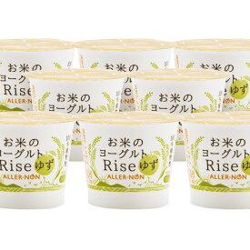 【植物性食品】Rise100g カップ 14個入り 乳酸菌 セット (ゆず味)【健康食品 米粉 ヨーグルト 植物性乳酸菌 乳アレルギー】