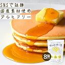 【公式】100g×8袋 ホットケーキミックス パンケーキミックス「はたらくママと、子どものための」ほっとけーち 無添加…