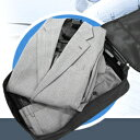 コンパクトガーメントケース【ガーメントケース ガーメントバック 出張 旅行 シワ 持ち運び コンパクト スーツ 折りた…