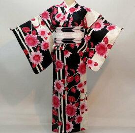 浴衣 仕立て上がり 女性用 綿80% 麻20% 152-167cm ゆかた単品 新品(株)安田屋 c746523394