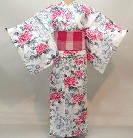 浴衣 仕立て上がり 女性用 ichi 綿100% 152-167cm ゆかた単品 新品(株)安田屋 g347183767