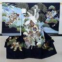 お宮参り産着 男児 男の子 正絹 のしめ 着物 祝着 初着 一つ身 羽二重 新品 (株)安田屋 r171117046