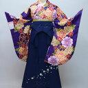 二尺袖着物袴フルセット 豪華絢爛 卒業式に 新品 (株)安田屋 x471918698