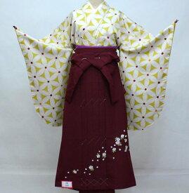 二尺袖 着物 袴フルセット hiromichi nakano ヒロミチナカノ 袴変更可能 着物丈はショート丈 卒業式 新品(株)安田屋 f377964160