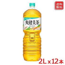 【2ケースセット】爽健美茶 PET 2L x12本 送料無料 【メーカー直送】