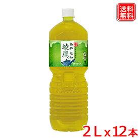 【2ケースセット】綾鷹 PET 2L x12本 緑茶のような本格的な味わい 旨み・渋み・苦みの絶妙な調和 送料無料 【メーカー直送】