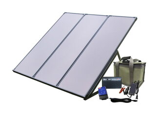Coleman 55 W solar generator Kit PVS-55WBN-emergency solar power Kit with battery and domestic battery, solar, veranda, solar power kits