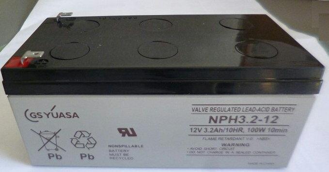 NPH3.2-12:GSユアサバッテリー 国内正規品