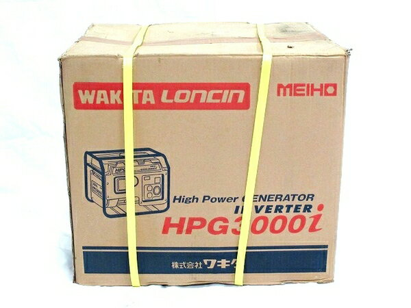 未使用 【中古】 MEIHO HPG3000i エンジン発電機 3kVA出力 インバーター T2767516