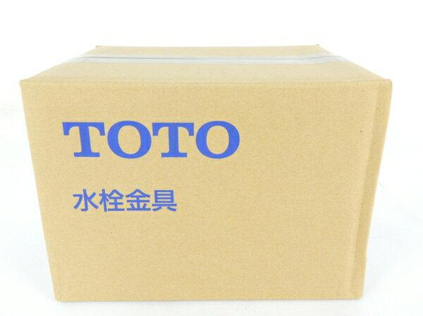 未使用 【中古】 TOTO 台付シングル13 TLHG30EG ツーホール混合栓 洗面台用 Y3542870