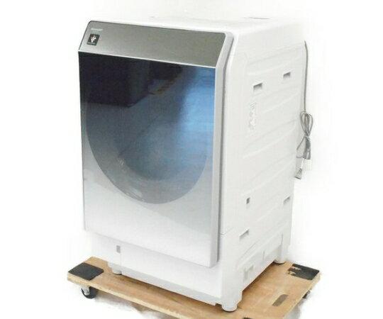 【中古】 SHARP シャープ ES-P110-SR ドラム式 洗濯 乾燥機 18年製 洗濯11.0kg 乾燥6.0kg 中古 【大型】 W3550643