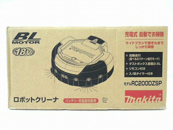未使用 【中古】 未使用 makita マキタ ロボットクリーナ RC200DZSP 業務 掃除ロボット O3288844