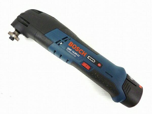 【中古】 中古 BOSCH GMF10.8 V-LI バッテリー 2個 チャージャー バッテリーカットソー O3282280
