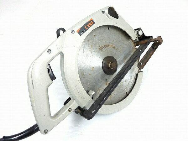 【中古】 中古 HITACHI 日立工機 C12BA 290mm 丸ノコ 100V 50/60HZ 32 電動 マルノコ O3281891