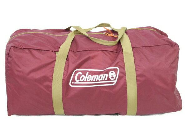 美品 【中古】 COLEMAN コールマン トンネル 2ルームハウス バーガンディ キャンプ用品 アウトドア N3861947