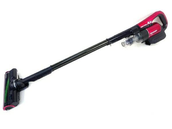 未使用 【中古】 SHARP EC-AR2S-P RACTIVE Air ラクティブ エア コードレス 掃除機 M3144617