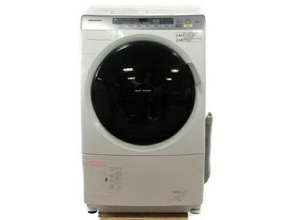 【中古】 Panasonic パナソニック NA-VX3101L 洗濯機 ドラム式 9.0kg 左開き クリスタルホワイト 楽 【大型】 T3604426