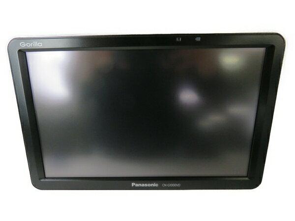【中古】 Panasonic パナソニック CN-G1000VD カーナビ 7型 SSD 16GB S3482456