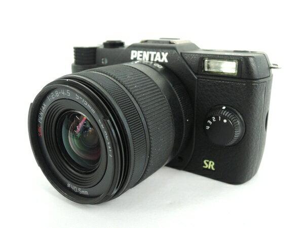 【中古】 PENTAX ペンタックス Q7 ズーム レンズ キット PENTAX-02 STANDARD ZOOM ミラーレス 一眼 カメラ Y2863420