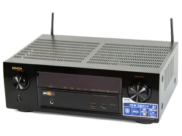 【中古】 DENON デノン AVR-X1200W AV アンプ オーディオ 音響 機器 Y3578899