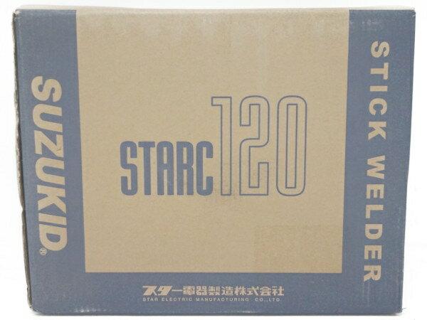 未使用 【中古】 未使用 SUZUKID SSC-122 スターク 60Hz 120低電圧 溶接機 F3126142