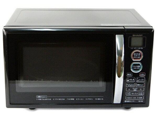 【中古】 SHARP シャープ RE-S5E-B 電子 オーブンレンジ 15L 17年製 家電 Y2739673