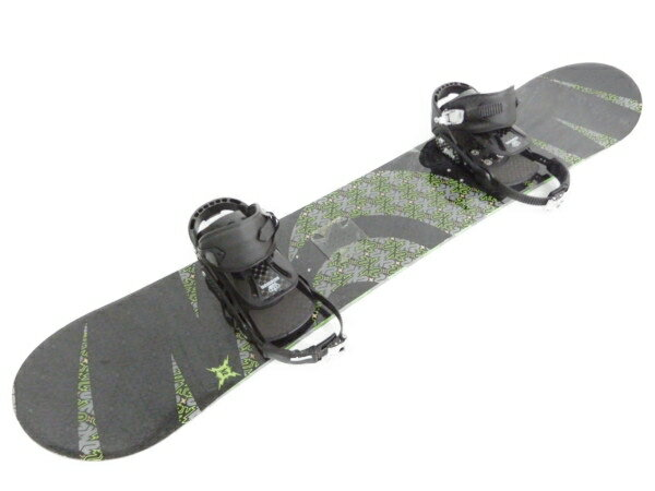 【中古】 K2 RESPITE 155cm スノーボード SALMON ビンディング ケース付【大型】 Y3483248