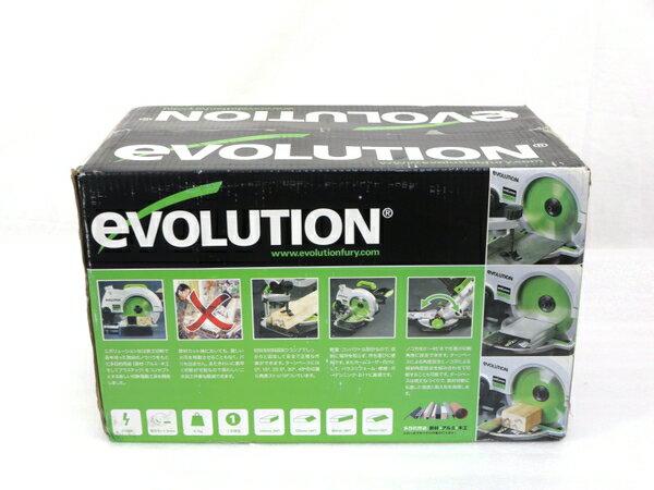 未使用 【中古】 EVOLUTION エボリューション FURY3-B 210mm 万能 切断 卓上 マルノコ M3164632