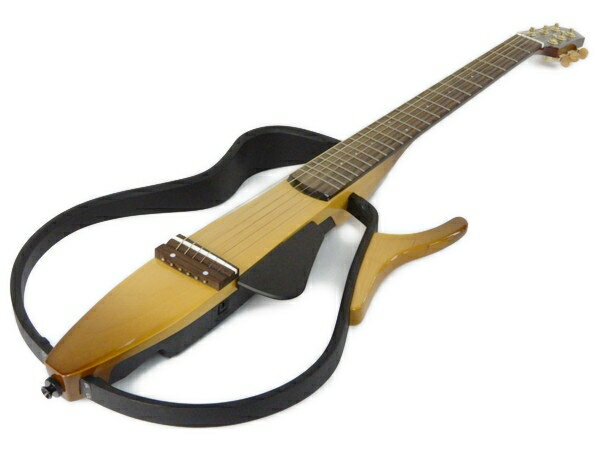 【中古】 YAMAHA ヤマハ SLG-110S サイレントギター ソフトケース付 楽器 Y2765055